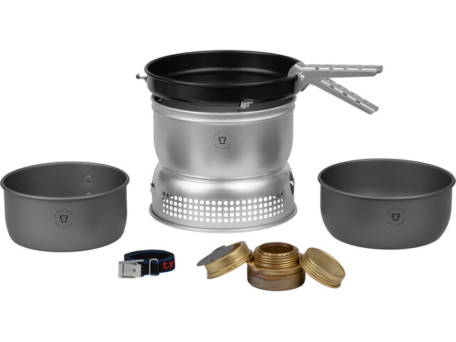 Trangia 25-9 HA ALU / UL ALU Storm Cooker with Gas Burner
